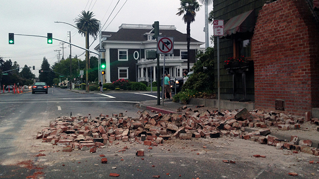 Earthquake Strikes in San Joaquin County