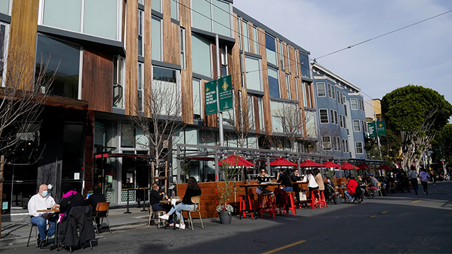 San Francisco's parklets will stay long after the COVID-19 pandemic