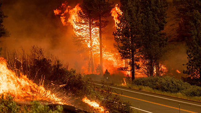 PG&E Says Its Equipment May Be Linked To Fire