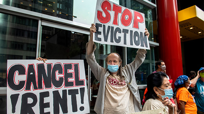 Here's what to do if you're at risk of eviction