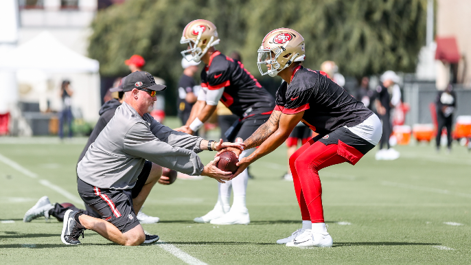 49ers Practice Report: Not the best day from the quarterbacks, and things get testy