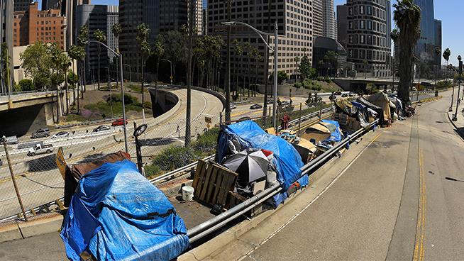 Caltrans will begin clearing homeless encampments