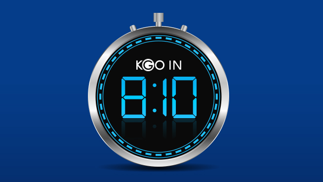 KGO in 8:10