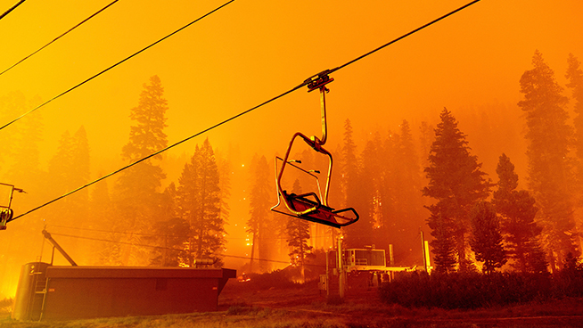 KGO Hosts React: Lighter winds could bring relief to the Caldor Fire in Lake Tahoe