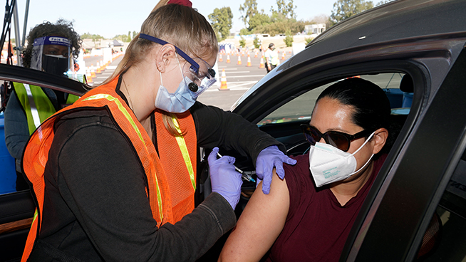 2 Bay Area counties have over 90% of eligible residents fully vaccinated against COVID-19