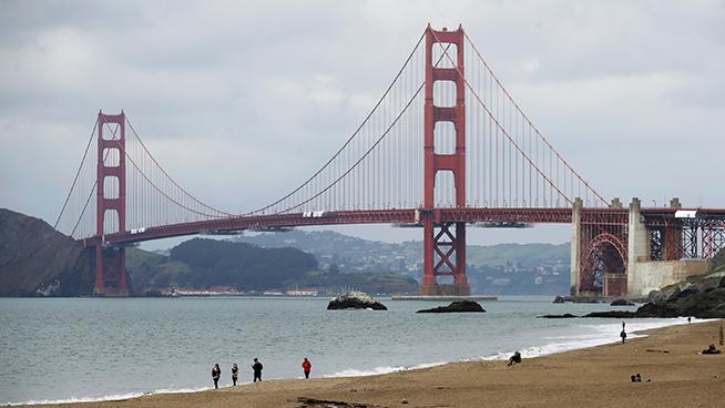 Protesters Block Traffic on Golden Gate Bridge