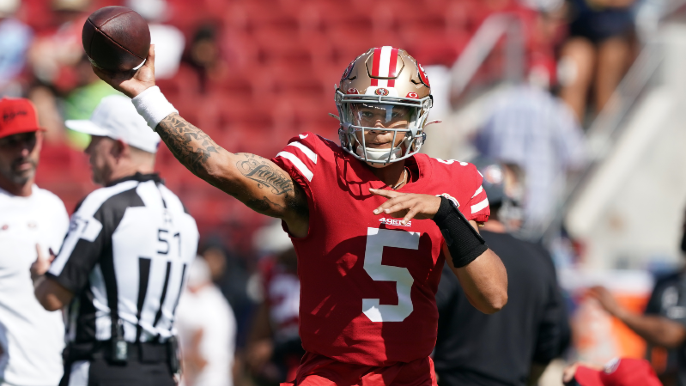49ers fall apart against Seahawks as Lance makes true, jittery debut