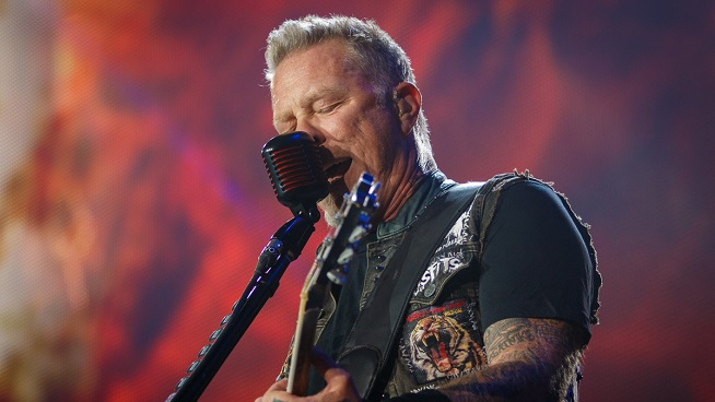 James Hetfield to Re-enter Rehab