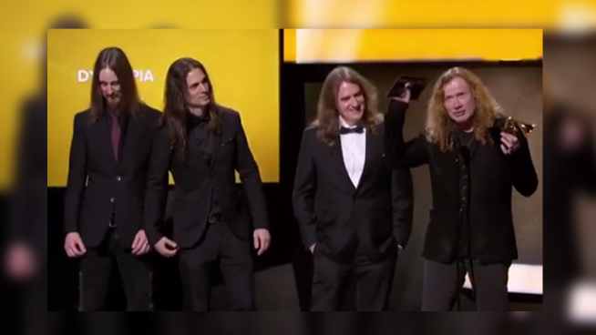 Dave Mustaine thinks Grammy would be 'a lot better' if it was only awarded to him