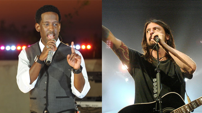Boyz II Men singer joins forces with Foo Fighters on 'heaviest' song of new album