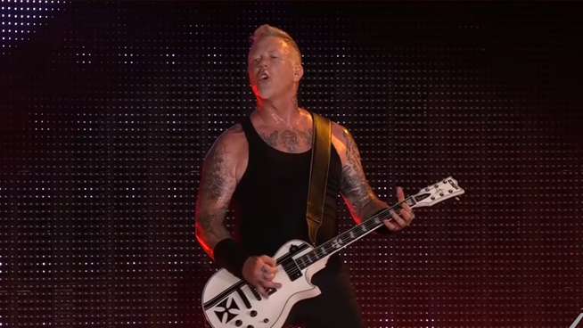 Metallica releases footage from the WorldWired Tour