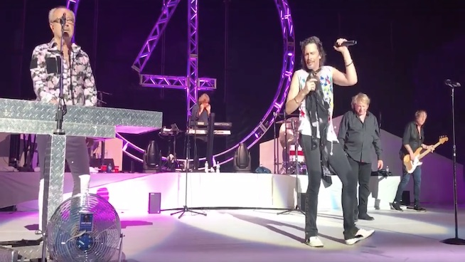 Foreigner's original members reunite for the first time since 1980