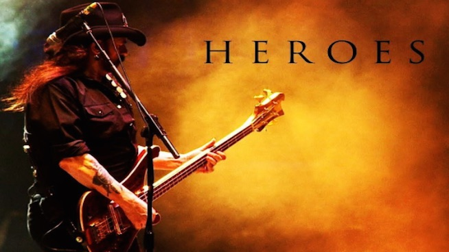 Motörhead releases never-before-heard cover of 'Heroes'