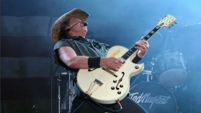 Ted Nugent says 'political correctness' is keeping him from the Rock and Roll Hall of Fame