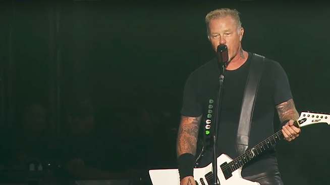 Metallica will live stream the final show of North American leg of 'WorldWired'