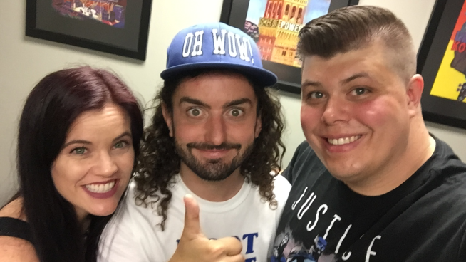 Watch Baby Huey & Chasta's Interview With Christopher Bowes From Alestorm