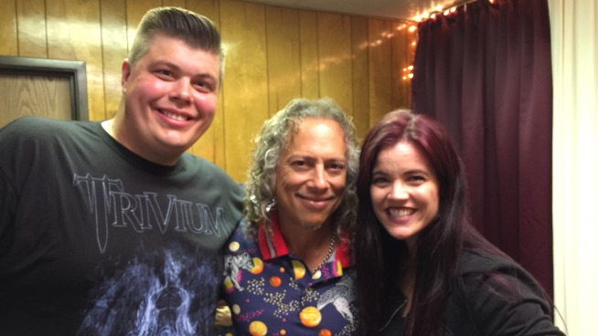 Kirk Hammett talks touring, his horror movie poster collection, burritos and more