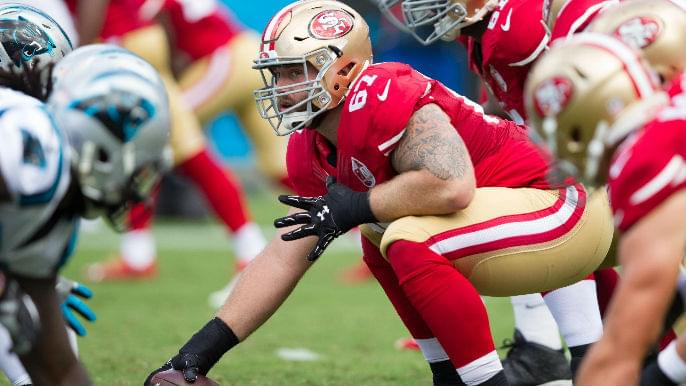 49ers trade Daniel Kilgore to Miami Dolphins