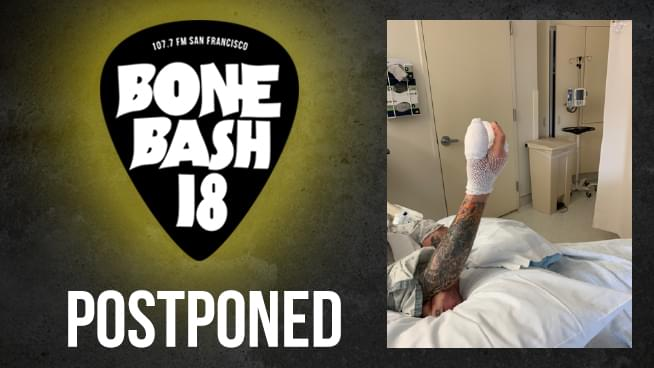 Ozzy Osbourne Postpones Bone Bash 18 Due To Last Minute Hand Surgery: UPDATED NEW DATE: 10/20/18