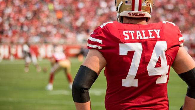 Joe Staley Reflects On The San Francisco 49ers Win Against The New Orleans Saints With Lamont & Tonelli