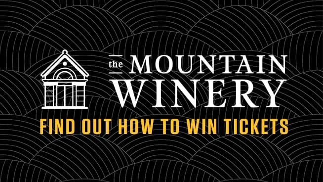 You Could Win Tickets To The Mountain Winery!