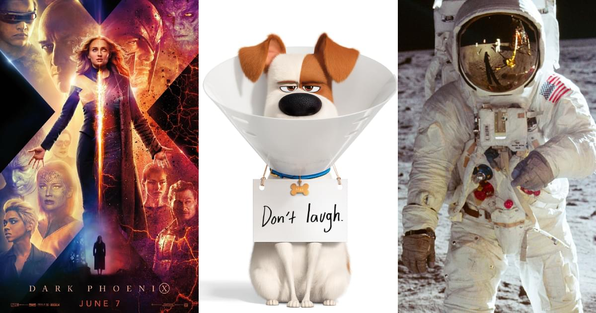 Flick Nation – Dark Phoenix, The Secret Life of Pets 2, Madea, Apollo 11
