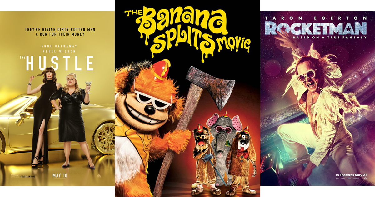 Flick Nation – The Banana Splits Movie, The Hustle + Home Media