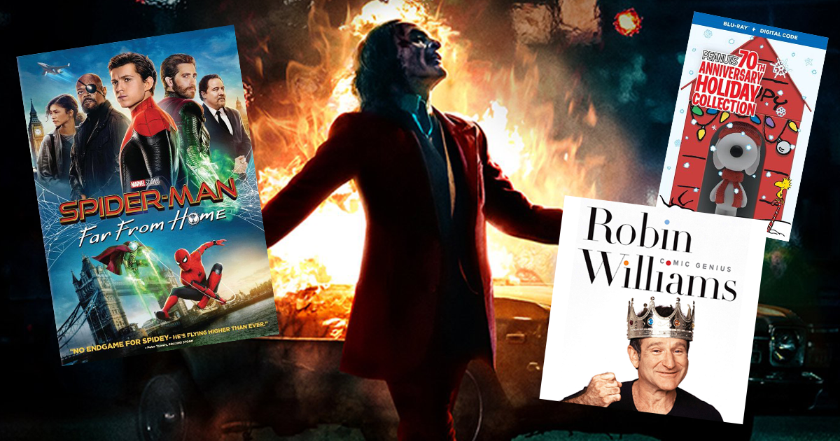 Flick Nation – Joker, Spider-man: Far From Home, and the ultimate Robin Williams Collection
