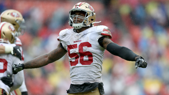 49ers' nightmare comes true with Kwon Alexander