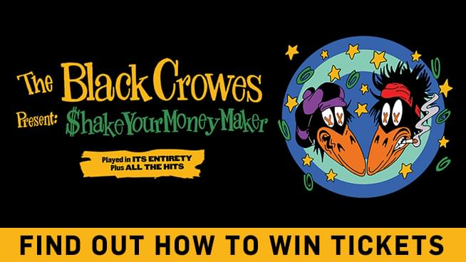 You Could Win Tickets To See The Black Crowes