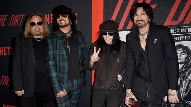 Reports Say Motley Crue Will Reunite To Tour Next Year With Def Leppard And Poison