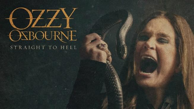 "Listen To Ozzy Osbourne's New Song ""Straight To Hell"""