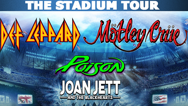 Def Leppard, Motley Crue, Poison & Joan Jett And The Blackhearts are coming to Oracle Park