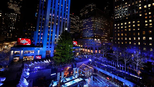 Bon Jovi performs new song honoring veterans at the 86th Annual Rockefeller Center Christmas Tree Lighting