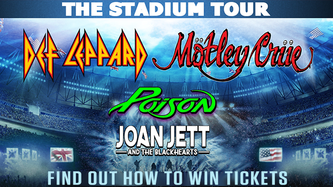 You Could Score Tickets to Def Leppard and Motley Crue!