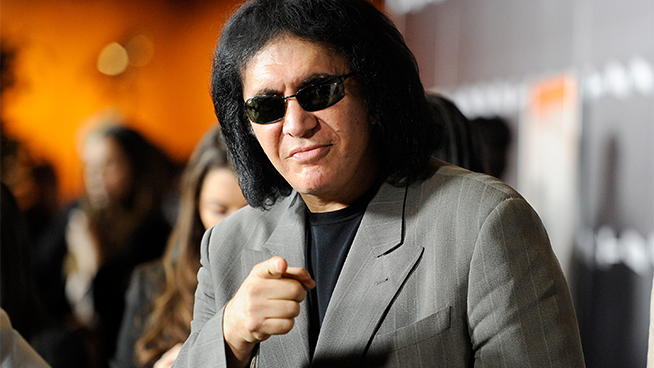 Is Gene Simmons starting a new trend by adding ice cubes to cereal?