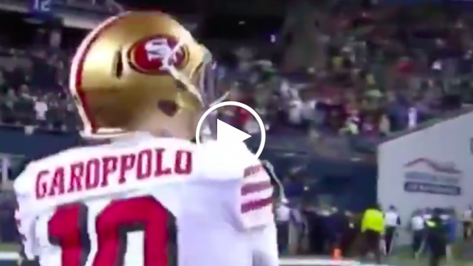 Jimmy Garoppolo fined by NFL for throwing football to fan after win over Seahawks