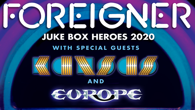 Foreigner announces The Juke Box Hereos Tour with Kansas and Europe