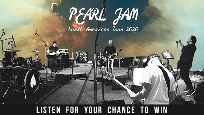 You Could Win Tickets To Pearl Jam