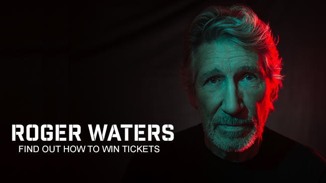 You Could Win Front Row Tickets To Roger Waters!