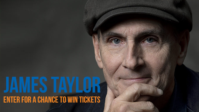 You Could Win Tickets To James Taylor and Jackson Browne