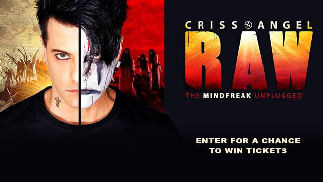 You Could Win Tickets To Criss Angel