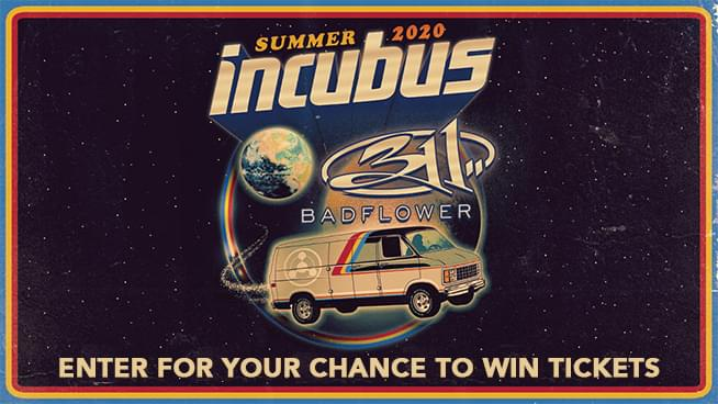Try To Win Tickets To See Incubus and 311