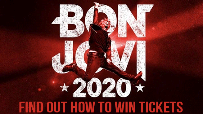 You Could Win Tickets To Bon Jovi!
