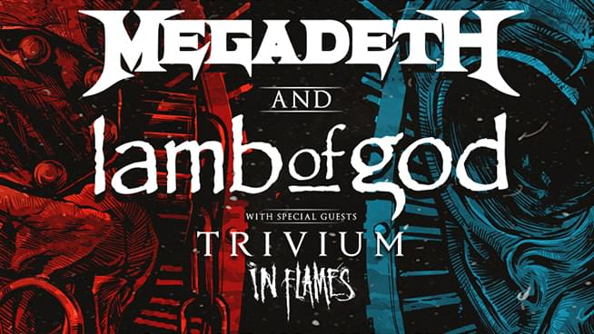 Megadeth and Lamb Of God announce the Metal Tour Of The Year with Trivium and In Flames