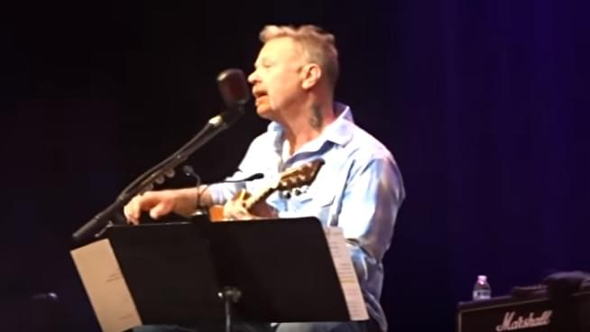 James Hetfield Performs at Eddie Money Tribute Concert