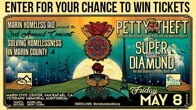 You Could Win Tickets To The Marin Homeless Aid Benefit Concert!