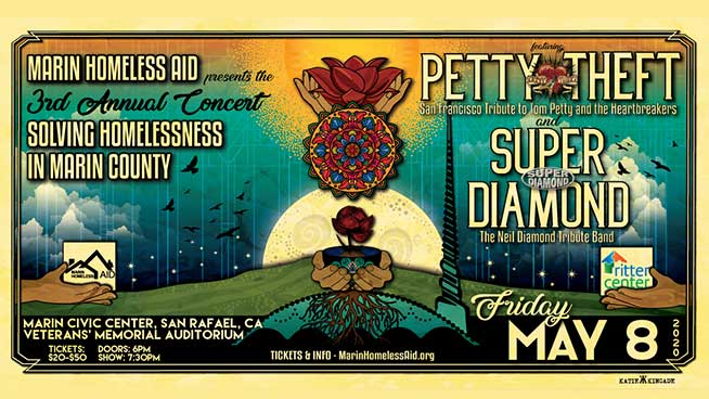 May 8: Marin Homeless Aid Benefit Concert