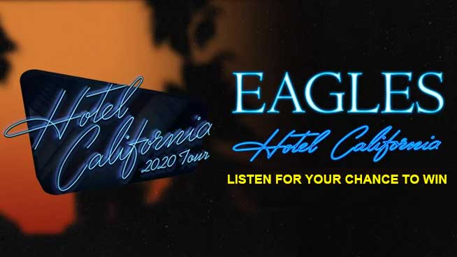 Listen For Your Chance To Win Tickets To See The Eagles