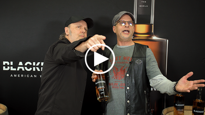 Lars Ulrich on aging whiskey with Metallica's music, opening the Chase Center